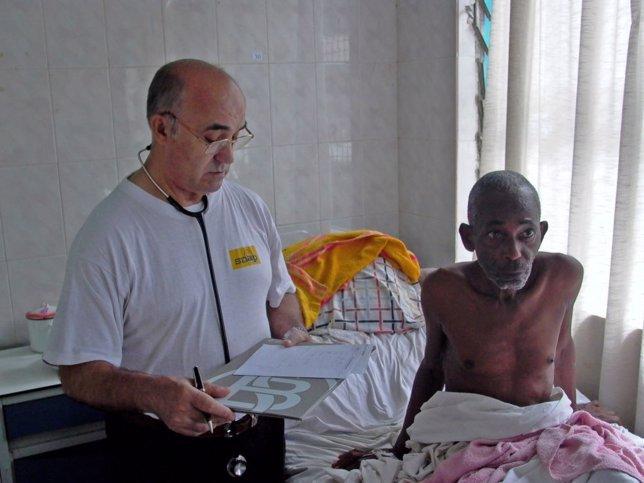 El hermano Manuel García Viejo, infectado de ébola en Sierra Leona