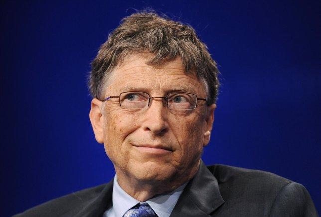Bill Gates, fundador de Microsoft, el hombre más rico del mundo 2013.