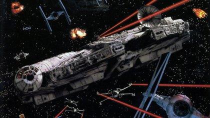 Star Wars VII: El Halcón Milenario y más naves en un taller secreto
