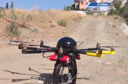 El nuevo hospital de la Salud (Granada), que atenderá a pacientes en 2016, emplea drones en su construcción