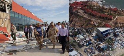 Cinco municipios mexicanos declarados desastre natural por el huracán Odile