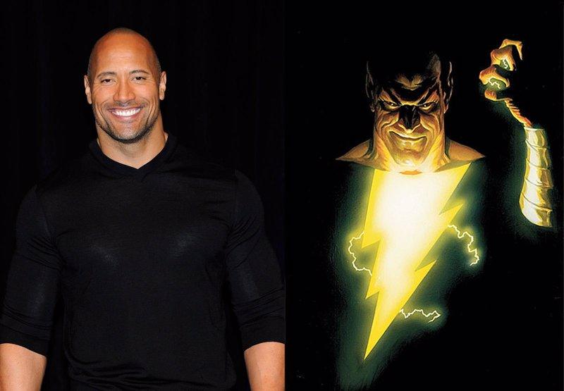 Black Adam DC Comics Dwayne Johnson Shazam