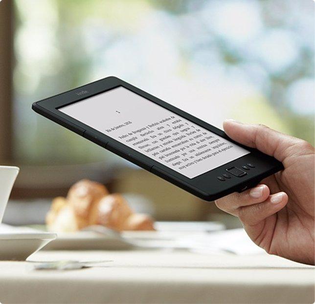 Lector de libros electrónicos Kindle de Amazon eReader eBook