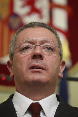 Ruiz Gallardón anuncia que dimite