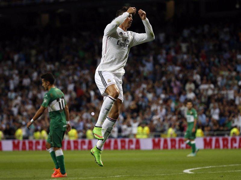 Cristiano Ronaldo tumba al Elche