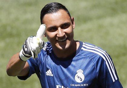 """Keylor Navas: """"Salgo contento porque el equipo ganó"""""""