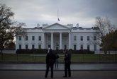 Foto: La Casa Blanca cuenta con una nueva valla exterior