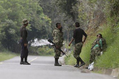 La Policía colombiana detiene a nueve guerrilleros de las FARC