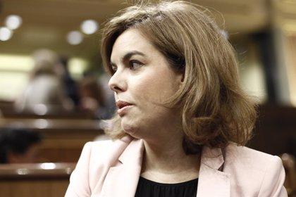 """Sáenz de Santamaría define a Catalá como """"una persona muy seria y solvente"""" que ya conoce el Ministerio de Justicia"""