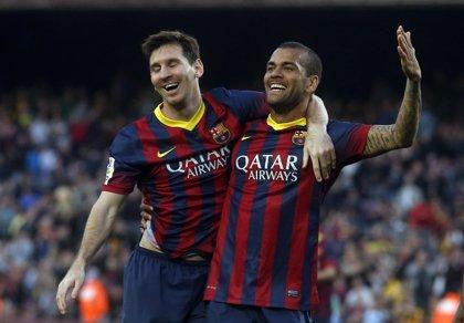 Alves y Mathieu, fuera de la lista