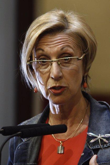 """Rosa Díez cree que lo han utilizado como """"chivo expiatorio"""" y avisa de que lo importante son las políticas"""