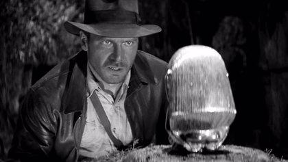 ¿Cómo sería Indiana Jones en blanco y negro... y muda?