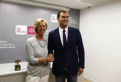 Rosa Díez descarta que Ciutadans sea la marca electoral de UPyD en Cataluña