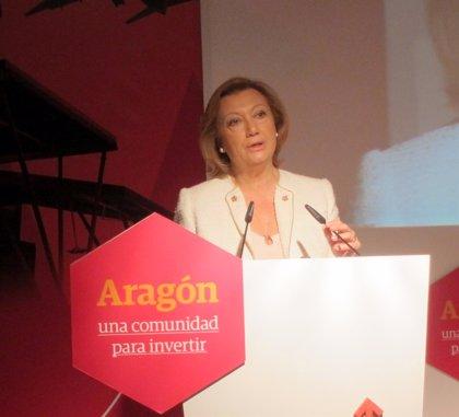 Presidenta de Aragón destaca las sinergias entre Andalucía y Aragón para desarrollar actividad económica complementaria