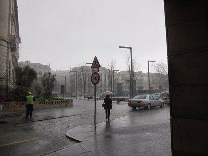 Aemet activa para mediodía la alerta amarilla por lluvias y tormentas en varias zonas de la Región