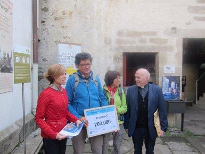 El peregrino 200.000 llega a Santiago después de recorrer 1.651 kilómetros en tres años desde Arles (Francia)