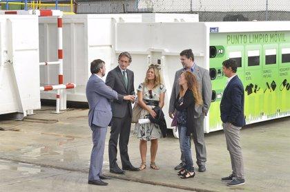 Santander duplica la recogida de residuos domésticos gracias al incremento de puntos limpios móviles