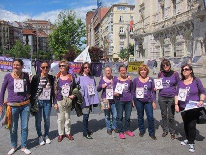 CANTABRIA.-La Plaza de Pombo acoge este jueves una nueva concentración contra la violencia de género