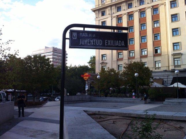 NP Juventud Sin Futuro Convierte La Plaza De Thatcher En La De La Juventud Exili