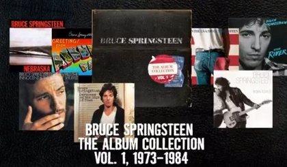 Bruce Springsteen lanza una caja con sus 7 primeros discos remasterizados