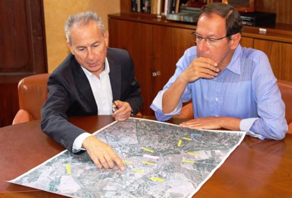 Ayuntamiento Murcia y CHS agilizarán la ejecución del interceptor de aguas pluviales de la zona norte
