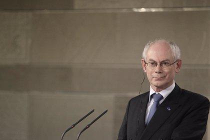 """Van Rompuy cree que el caso de Catalunya es distinto al de Escocia por """"restricciones constitucionales"""""""