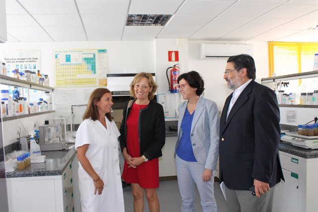 Presidenta del Ifapa presenta el centro 'Las Torres'.