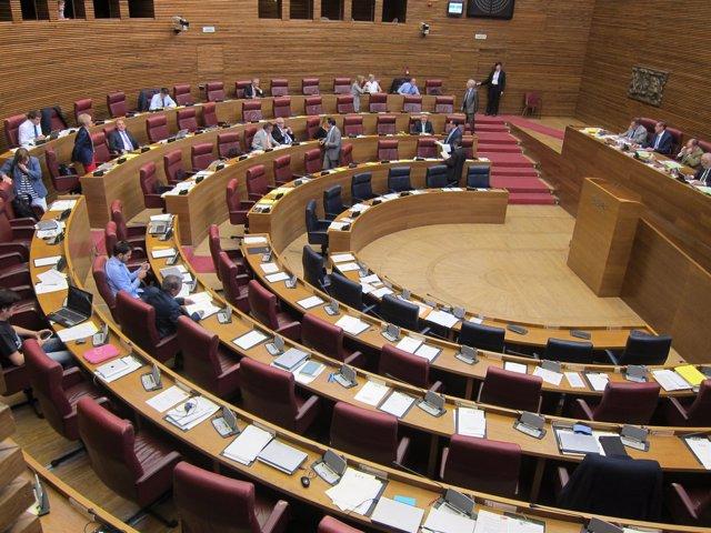 Imagen del hemiciclo en la sesión vespertina del debate del miércoles