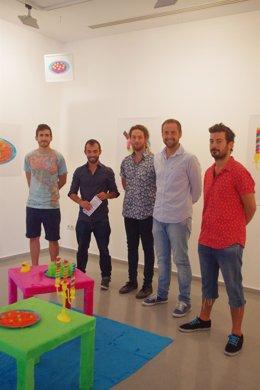 Luis Verde en Exposición de jóvenes artistas malagueños en la caja blanca
