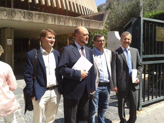 PSOE, Izquierda Plural (IU-ICV-CHA) y UPyD ante el TC