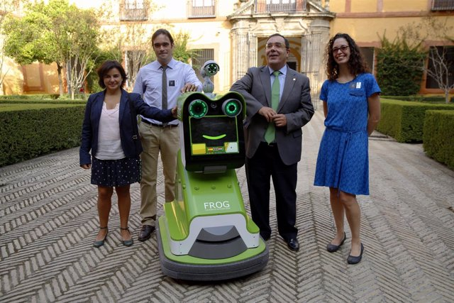 El robot ya fue probado como guía en el zoo de Lisboa