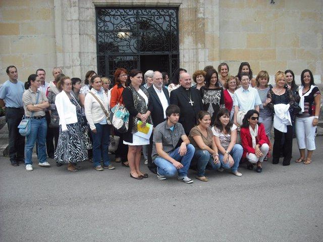 Encuentro del obispo con los profesores de religión