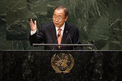 """Ban llama a aunar esfuerzos ahora que """"el horizonte de esperanza se ha oscurecido"""" en el mundo"""