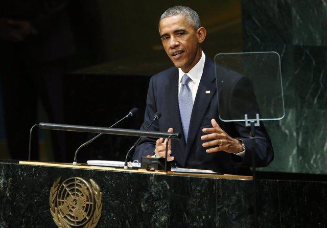 Barack Obama habla ante la Asamblea General de la ONU