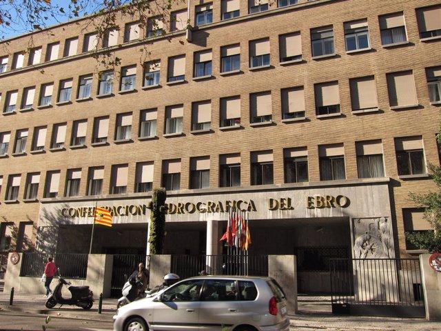 Sede De La Confederación Hidrográfica Del Ebro (CHE) En Zaragoza