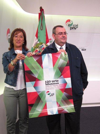 """PNV reivindicará el domingo """"una nación con derecho a ser escuchada, a ser consultada y a decidir su futuro"""""""
