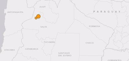 Dos sismos de más de 6 sacuden el norte de Argentina y Chile