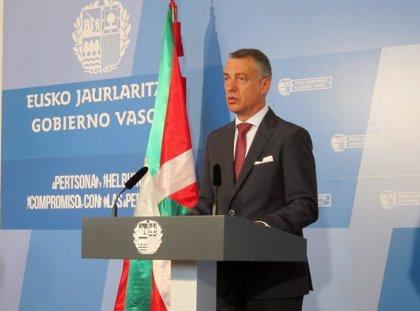 El lehendakari priorizará la economía y planteará dos oportunidades, la convivencia y el nuevo estatus