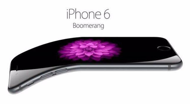 BendGate del iPhone 6 plus