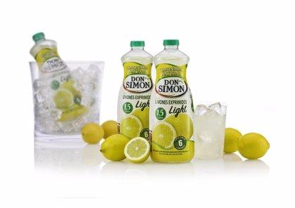 Economía/Empresas.- Don Simón incrementa su cuota de mercado con Limonada Light, que se sitúa en el 77,6%