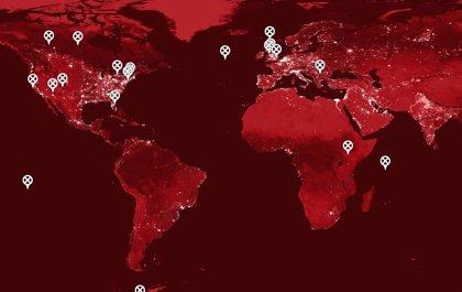 Mapa interactivo con todo el universo de X-Men