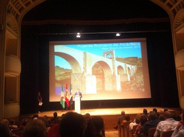 Presentación de la oferta turistica de la provincia de Cáceres
