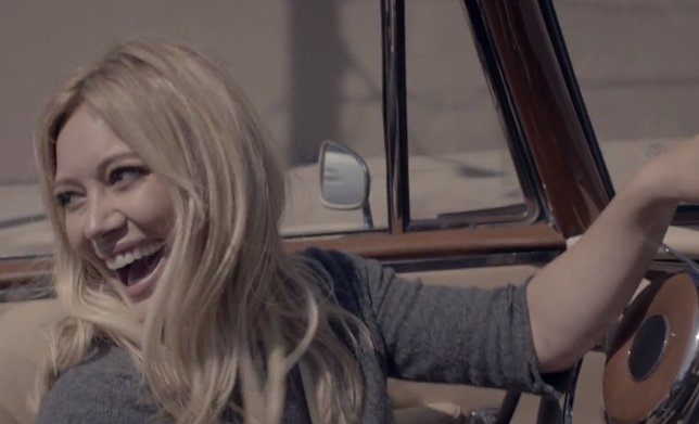 Hilary Duff estrena videoclip para All About You
