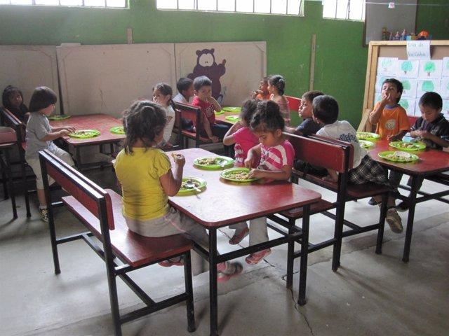 Guardería en Guatemala