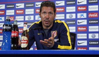 """Simeone: """"Jugamos contra un rival que tiene bastantes similitudes a nosotros"""""""