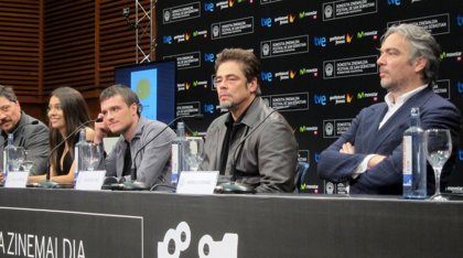 """Benicio del Toro: """"es un honor recibir un premio de este tamaño de uno de los festivales que más me gustan"""""""