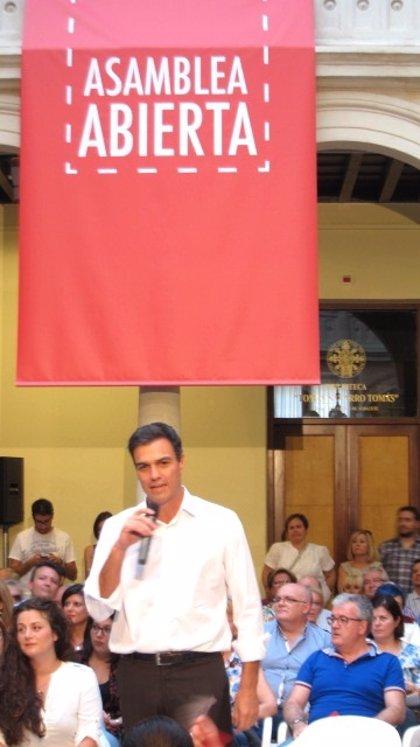 Sánchez pide apoyo para que los PGE sean los últimos de Rajoy