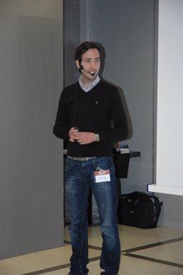 El periodista valenciano David Blay.