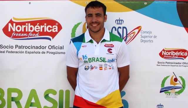 Tono Campos piragüismo campeón mundo maratón