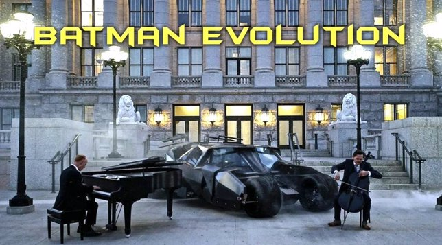 The Piano Guys tocan Batman Evolution